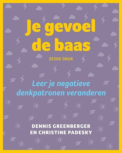 photo of cover of dutch translation of mind over mood