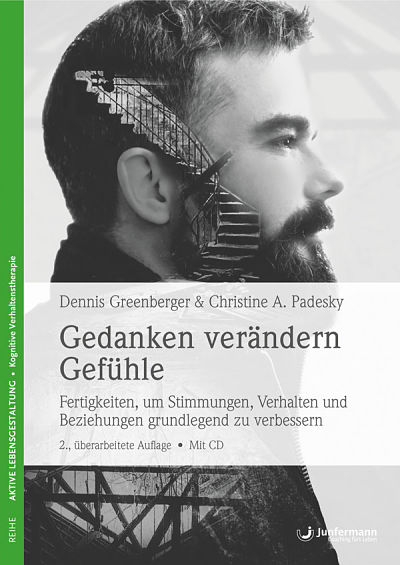 photo of cover of german translation of mind over mood