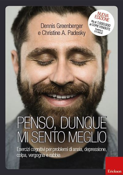 photo of cover of italian translation of mind over mood