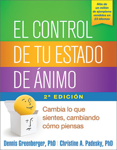 photo of cover of spanish for north america translation of mind over mood
